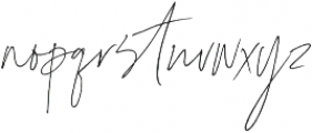 Coral Blush Script ttf (400) Font LOWERCASE