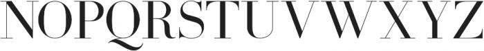 Coral Blush Serif ttf (400) Font UPPERCASE