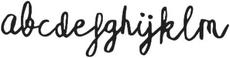 Coralie ttf (400) Font LOWERCASE