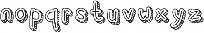 Corat Coret Complete One otf (400) Font LOWERCASE