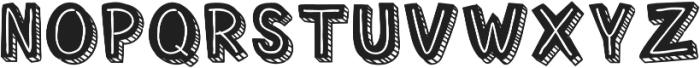 Corat Coret Complete otf (400) Font UPPERCASE