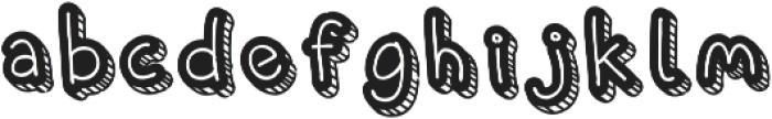 Corat Coret Complete otf (400) Font LOWERCASE