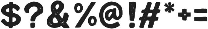 Cordoba Sans Stamp otf (400) Font OTHER CHARS