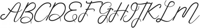 Corlita Script otf (400) Font UPPERCASE