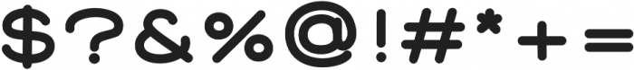 Corn Black otf (900) Font OTHER CHARS