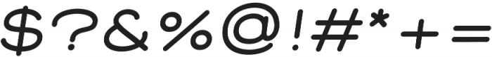 Corn Bold italic otf (700) Font OTHER CHARS
