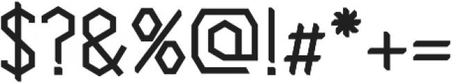 Cornera Extended Bold otf (700) Font OTHER CHARS