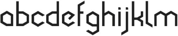Cornera Extended Bold otf (700) Font LOWERCASE