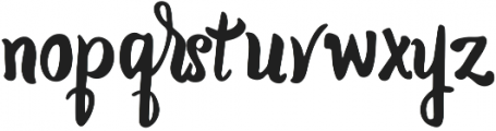 Cornish otf (400) Font LOWERCASE
