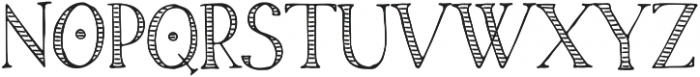 Cornish_Pasty_Stylistic_One otf (400) Font UPPERCASE