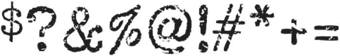 Coronamatic 67 Booked otf (400) Font OTHER CHARS