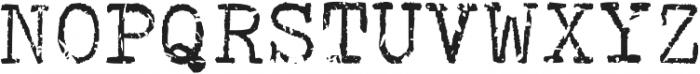 Coronamatic 67 Booked otf (400) Font UPPERCASE