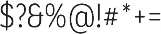 CorpSansRd Alt Book Cnd otf (400) Font OTHER CHARS