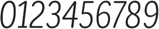 CorpSansRd Alt Book CndIt otf (400) Font OTHER CHARS