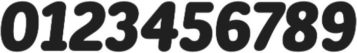 CorpSansRd Black CndIt otf (900) Font OTHER CHARS