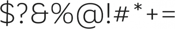Corporative Alt Book otf (400) Font OTHER CHARS