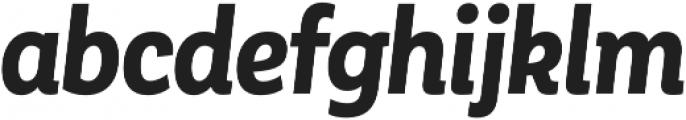 Corporative Alt Cnd Bold Italic otf (700) Font LOWERCASE
