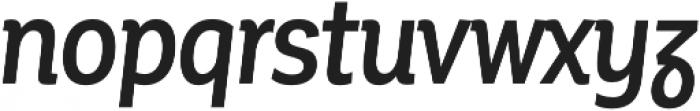 Corporative Alt Cnd Medium Italic otf (500) Font LOWERCASE