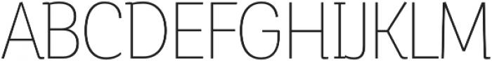 Corporative Alt Cnd Thin otf (100) Font UPPERCASE