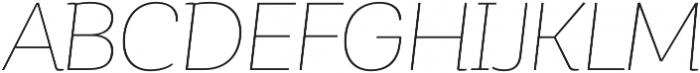 Corporative Alt Hair Italic otf (400) Font UPPERCASE