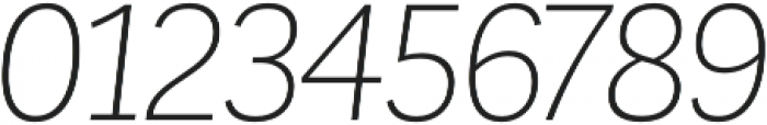 Corporative Alt Light Italic otf (300) Font OTHER CHARS