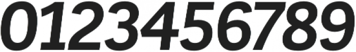 Corporative Bold Italic otf (700) Font OTHER CHARS