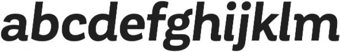 Corporative Bold Italic otf (700) Font LOWERCASE