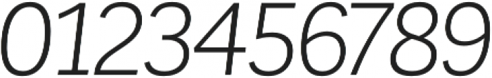 Corporative Book Italic otf (400) Font OTHER CHARS