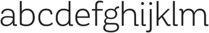 Corporative Book otf (400) Font LOWERCASE