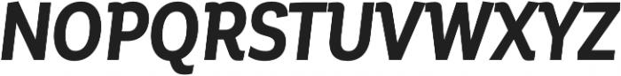 Corporative Cnd Bold Italic otf (700) Font UPPERCASE