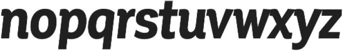 Corporative Cnd Bold Italic otf (700) Font LOWERCASE