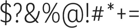 Corporative Cnd Book otf (400) Font OTHER CHARS