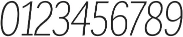 Corporative Cnd Light Italic otf (300) Font OTHER CHARS