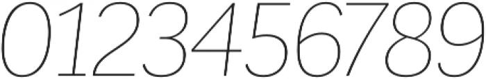 Corporative Hair Italic otf (400) Font OTHER CHARS