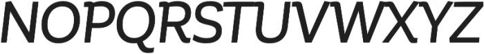 Corporative Medium Italic otf (500) Font UPPERCASE