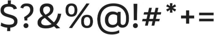 Corporative Medium otf (500) Font OTHER CHARS