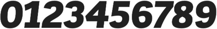 Corporative Sans Alt Black Italic otf (900) Font OTHER CHARS