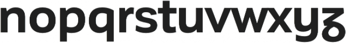Corporative Sans Alt Bold otf (700) Font LOWERCASE