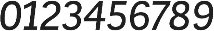 Corporative Sans Alt Medium Italic otf (500) Font OTHER CHARS