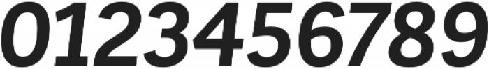 Corporative Sans Bold Italic otf (700) Font OTHER CHARS