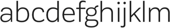 Corporative Sans Book otf (400) Font LOWERCASE