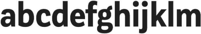 Corporative Sans Cnd Bold otf (700) Font LOWERCASE