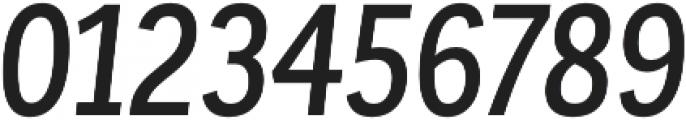 Corporative Sans Cnd Medium Italic otf (500) Font OTHER CHARS