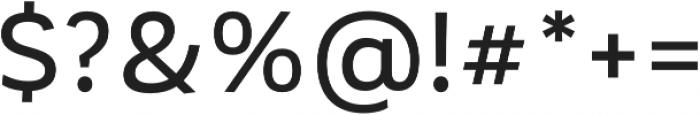 Corporative Sans Medium otf (500) Font OTHER CHARS