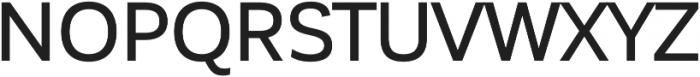 Corporative Sans Medium otf (500) Font UPPERCASE