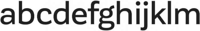 Corporative Sans Medium otf (500) Font LOWERCASE