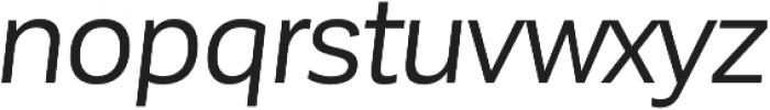 Corporative Sans Regular Italic otf (400) Font LOWERCASE