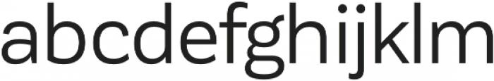 Corporative Sans otf (400) Font LOWERCASE