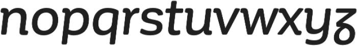 Corporative Soft Alt Medium It otf (500) Font LOWERCASE