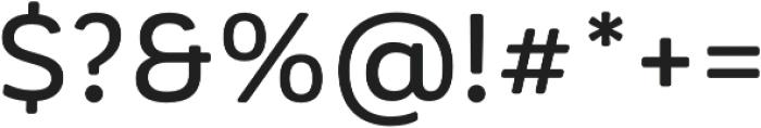 Corporative Soft Alt Medium otf (500) Font OTHER CHARS